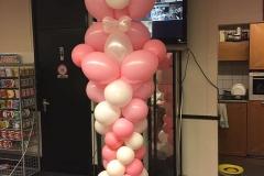 geboortebeer roze