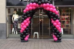 boog roze/zwart