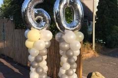 ballonnen 60 jaar getrouwd